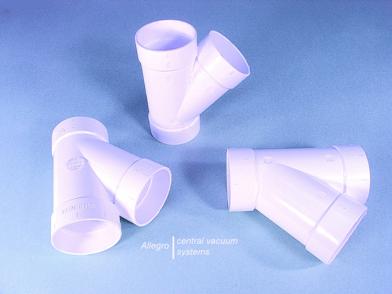Pvc 120 Degree : Electrolux central vacuum inch pvc degree tee y elbow