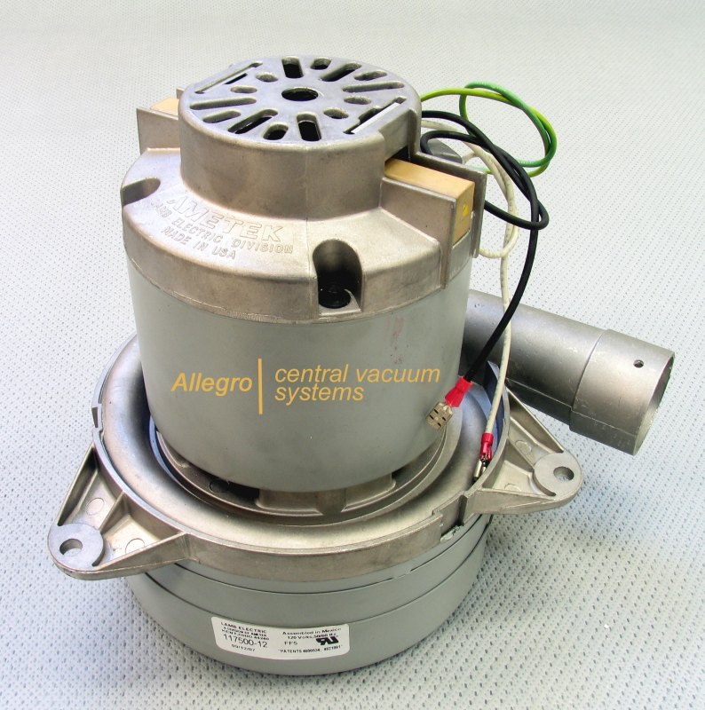 Ametek lamb central vacuum replacement blower electric motor 117500 12 Lamb vacuum motor parts