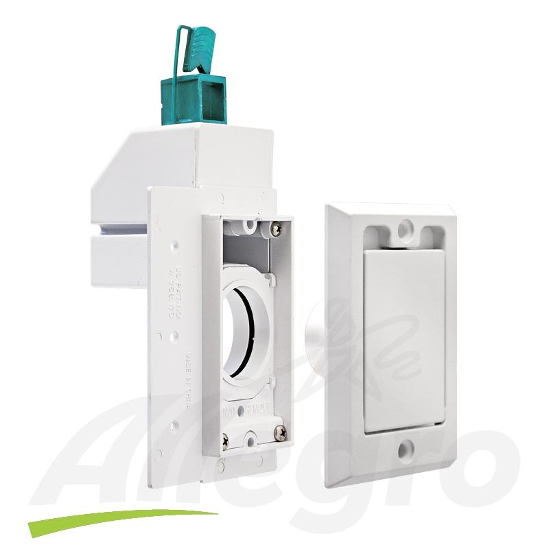 electrolux central vacuum super valve 120v 24 volt white inlet. Black Bedroom Furniture Sets. Home Design Ideas