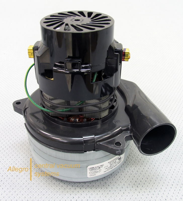 Beam central vacuum replacement motor ametek lamb 122059 00 for Tangential bypass motor central vacuum