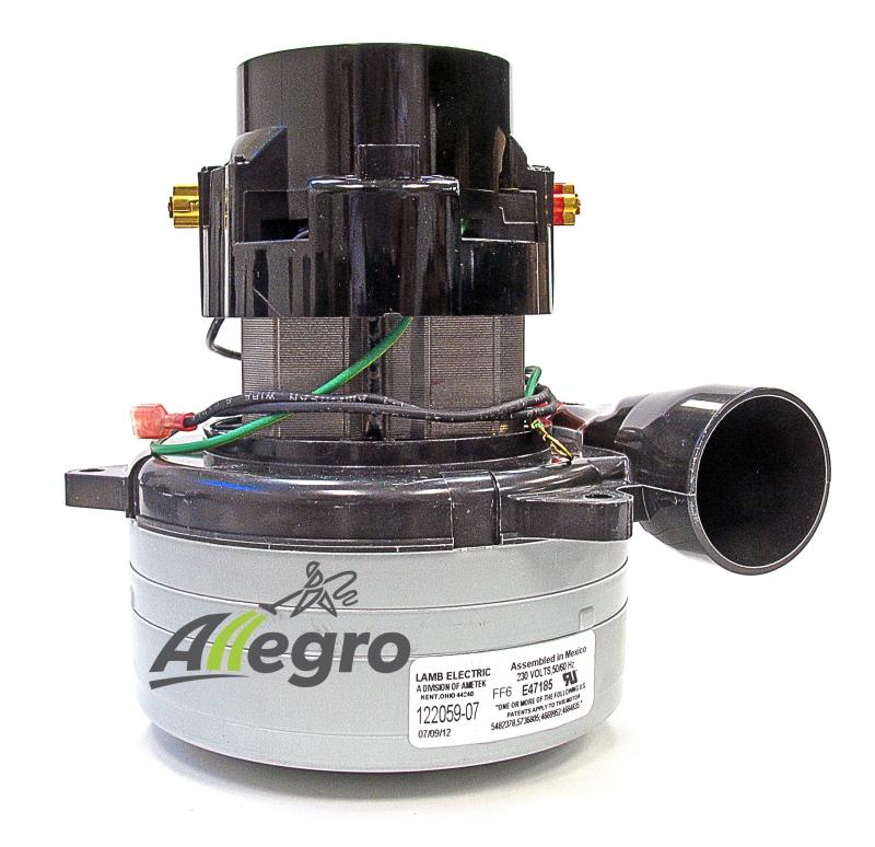 Beam central vacuum replacement motor ametek lamb 122059 00 for Central ac blower motor replacement