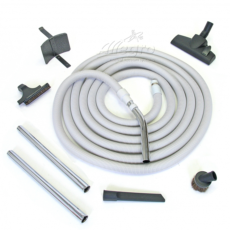 Allegro Aspirateur Central Vacuum 50 Foot Hose Attachment Set