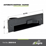 Allegro Central Vacuum Automatic Dustpan Vacpan Black