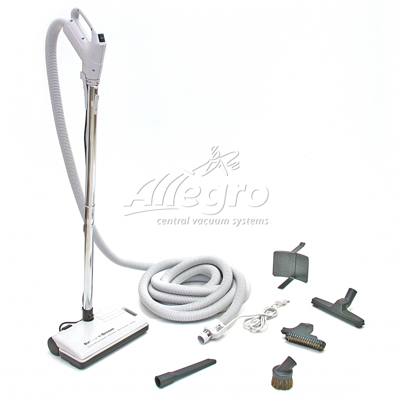 Allegro Central Vac Powerhead Rugmaster 35 Hose Attachment