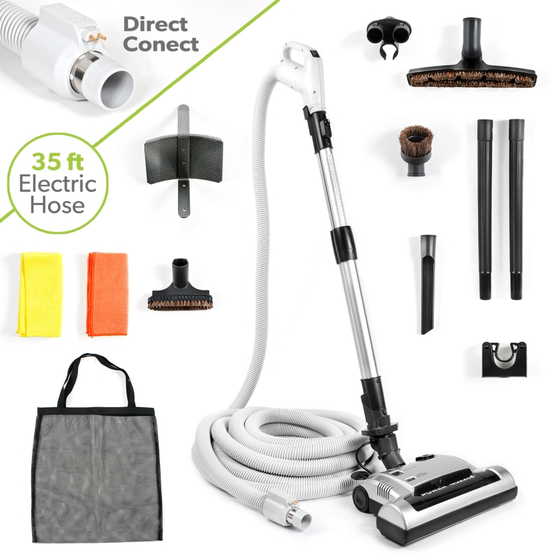 how to connect central vacuum