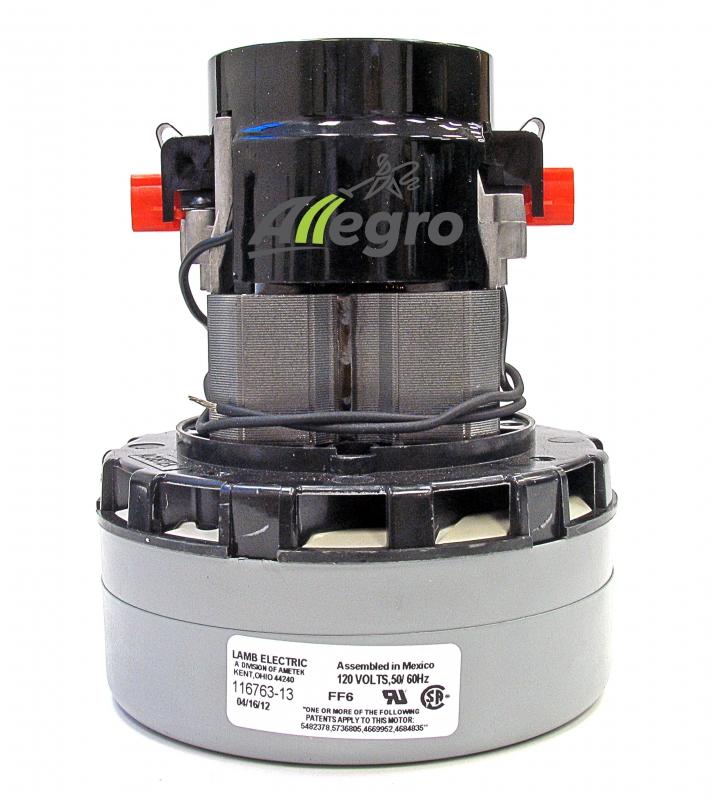 Allegro Central Vacuum Ametek Lamb Blower Motor 116763 13