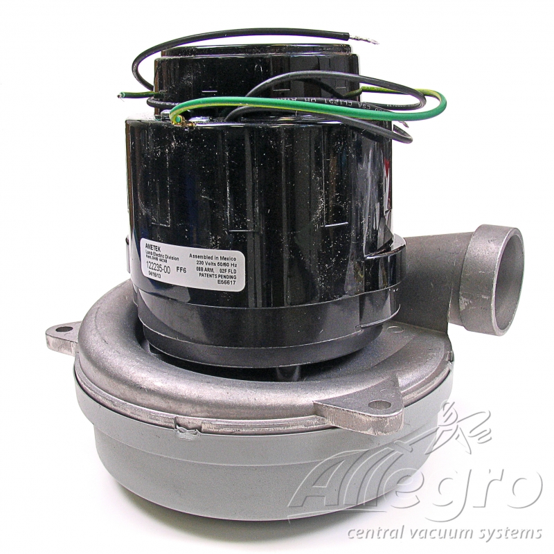 Ametek lamb central vacuum replacement blower electric motor 122235 00 Ametek lamb motor