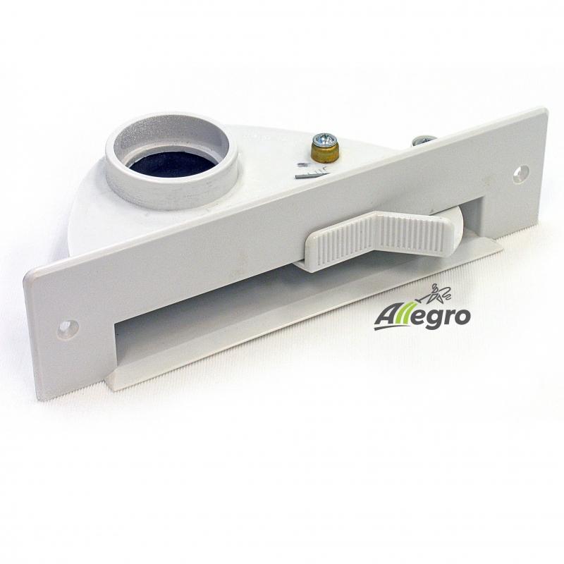 Allegro Central Vacuum White Vacpan