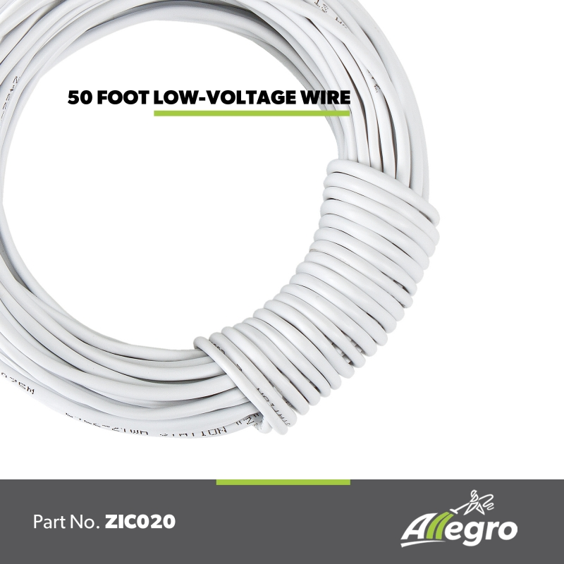 Low Voltage Cable Installer : Allegro central vacuum low voltage installation wire