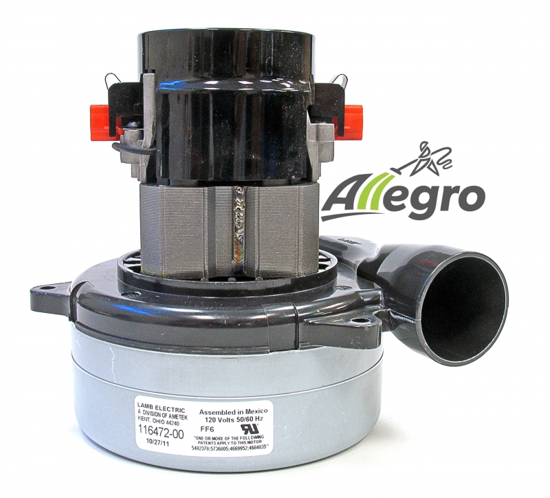 Ametek Lamb Central Vacuum Replacement Blower Electric: vaccum motors