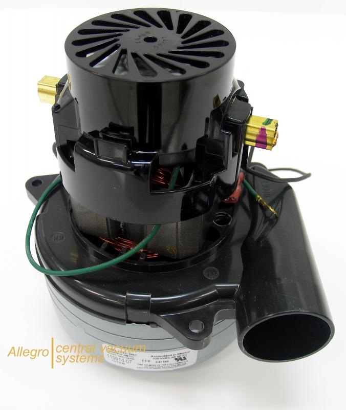 Central vacuum motor ametek 119913 Ametek lamb motor