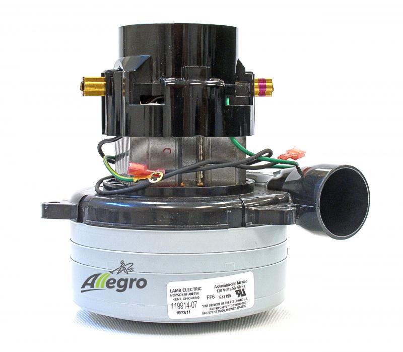 Allegro Central Vacuum Motor Ametek Lamb