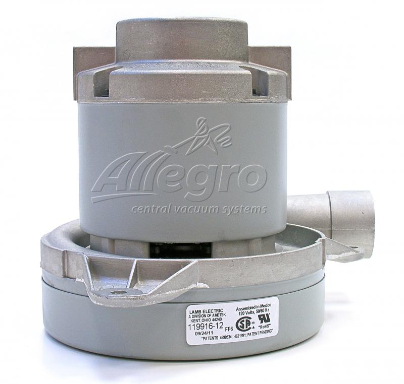 Tremendous Ametek Lamb Central Vacuum Replacement Motor 119916 12 Wiring 101 Jonihateforg