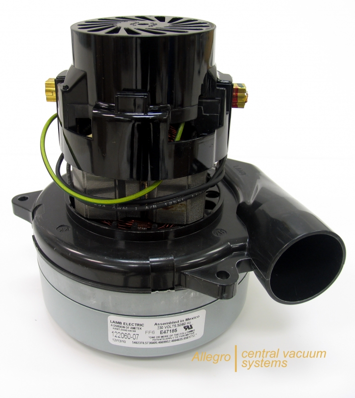 Allegro central vacuum motor buyer 39 s guide 220 240v for Tangential bypass motor central vacuum
