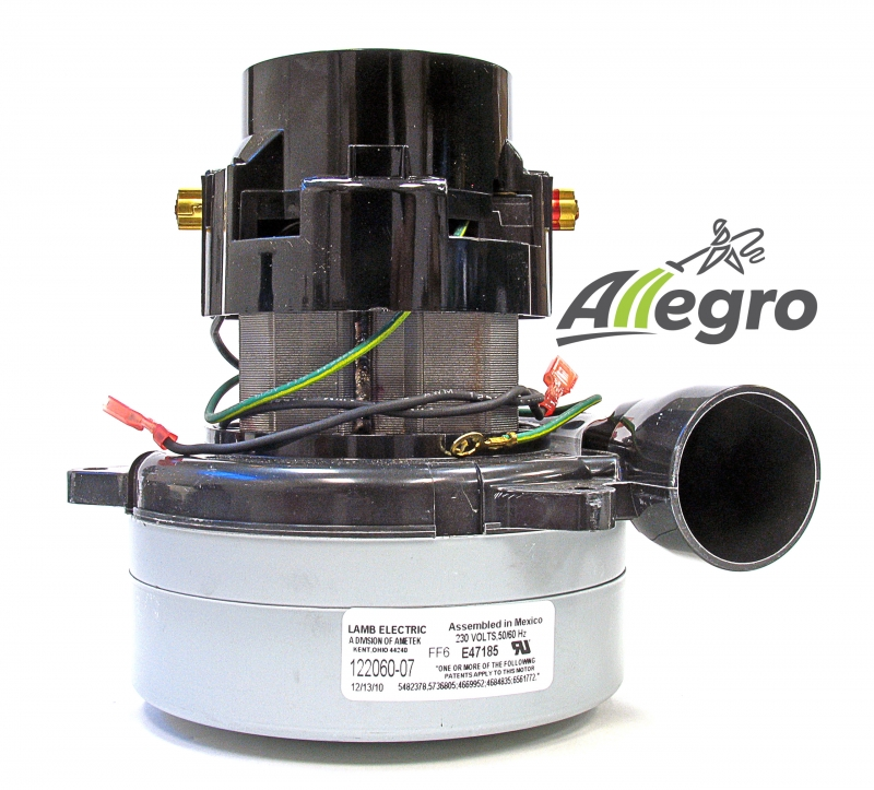 Allegro Central Vacuum Motor Buyer 39 S Guide 220 240v: ametek lamb motor