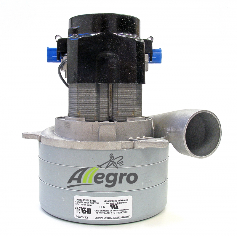 Allegro central vacuum motor buyer 39 s guide ametek lamb Vaccum motors