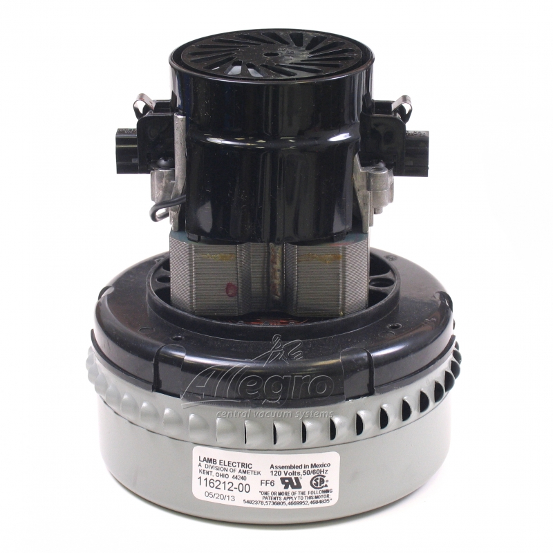 central vacuum replacement ametek lamb electric motor 116212