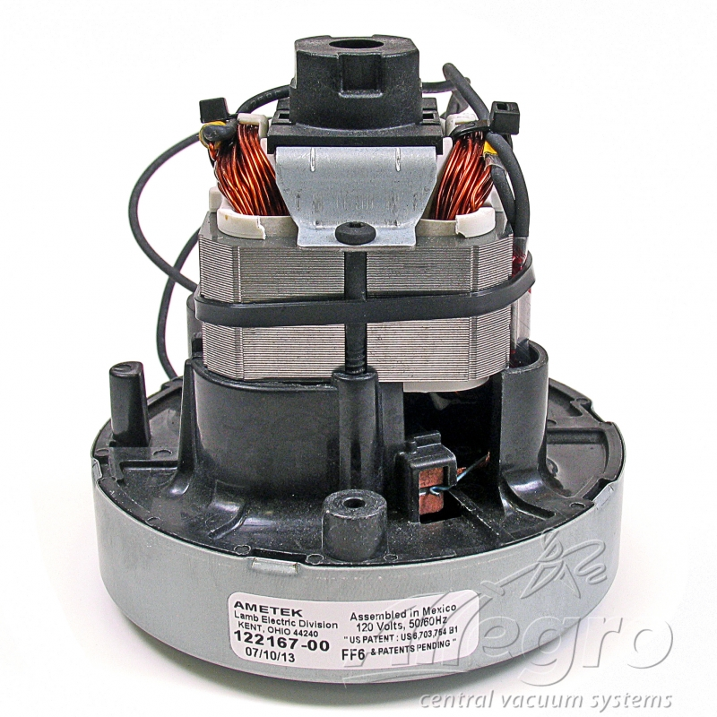 Central vacuum replacement ametek lamb electric motor 122167 00 Ametek lamb motor