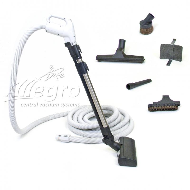 Vacuum hose hookup