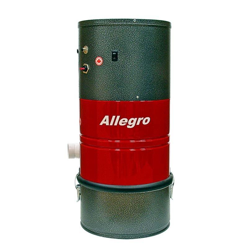 allegro central vacuum poco for the apartment