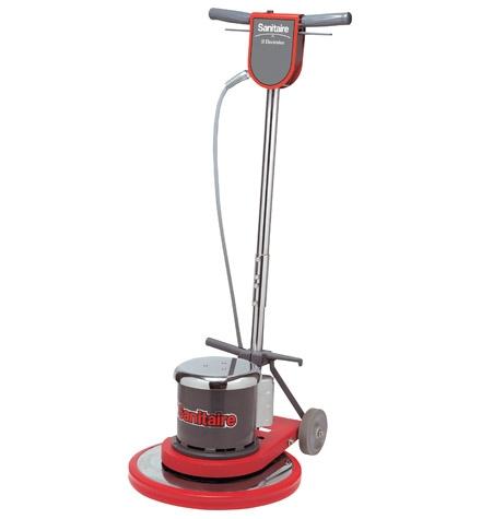 Sanitaire 17 inch dual speed hp floor machine for 17 inch floor machine