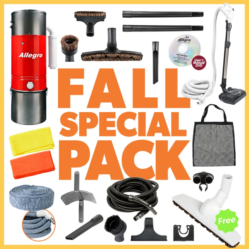 Allegro Central Vacuum 2017 Fall Pack Promotion