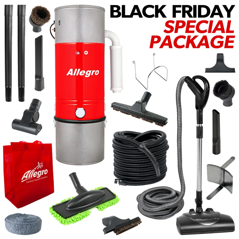 Allegro Central Vacuum 2018 Black Friday Promotion